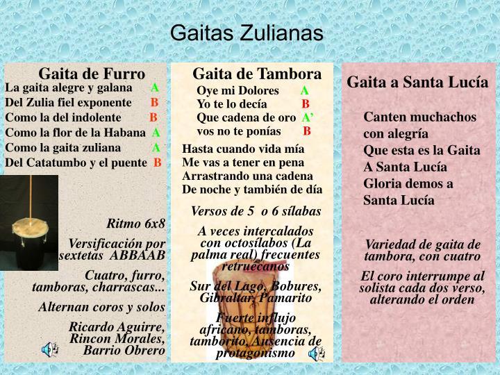 Gaitas Zulianas