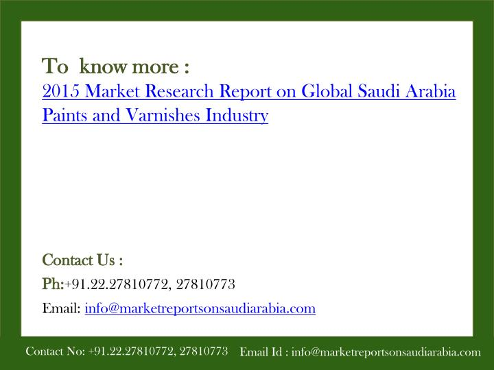 To  know more :