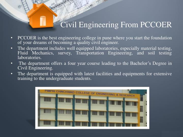 Civil Engineering From PCCOER