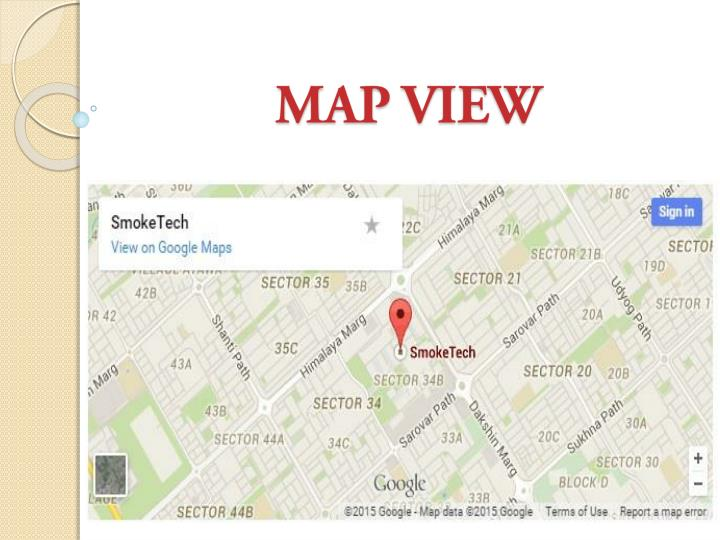 MAP VIEW