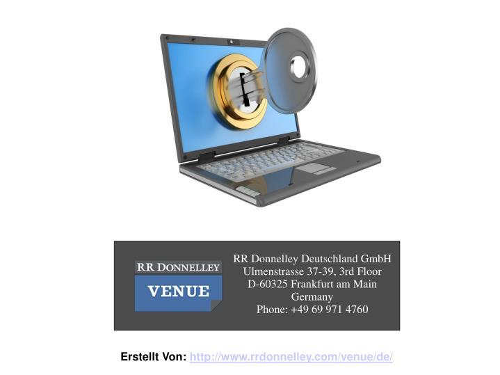 RR Donnelley Deutschland GmbH