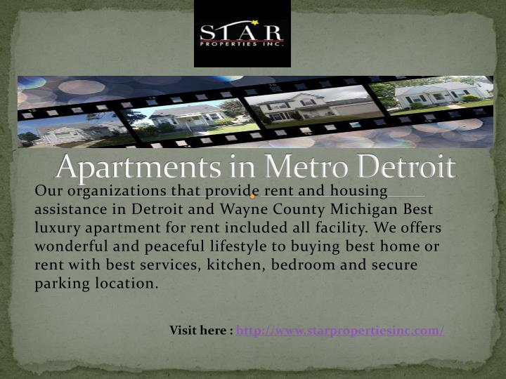 Apartments in metro detroit