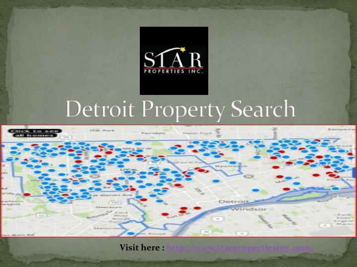 Detroit Property Search