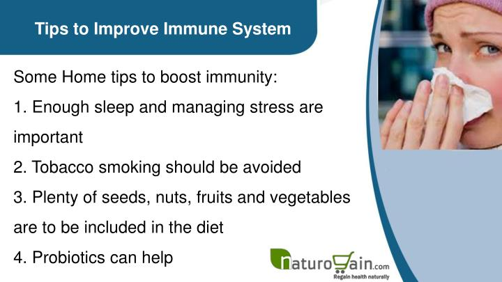 Tips to Improve Immune System