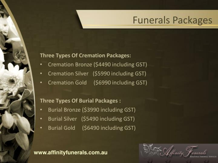 Funerals Packages
