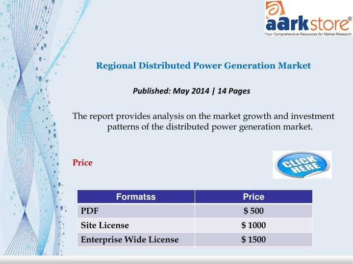 Regional Distributed Power Generation Market