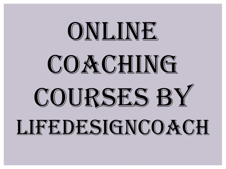 Online Coaching Courses By