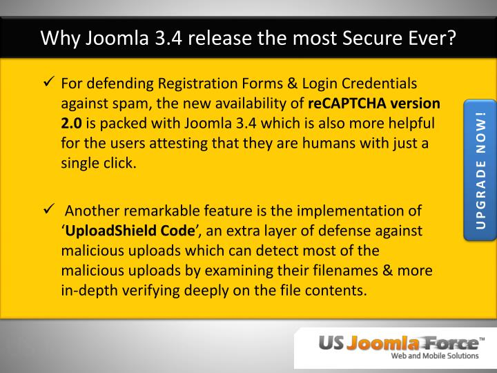 Why Joomla 3.4 release the most Secure Ever?