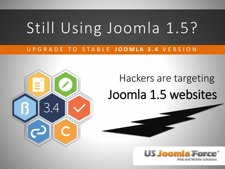 still using joomla 1 5
