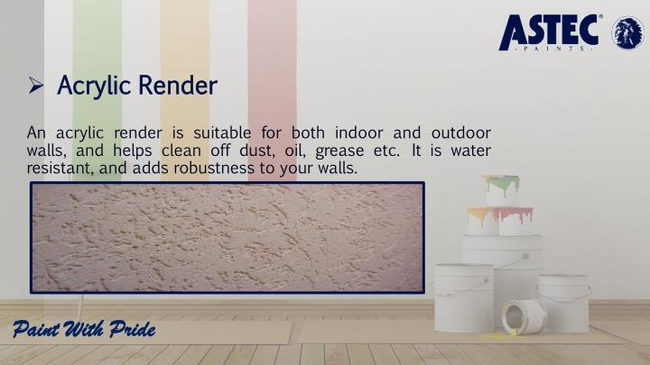 Acrylic Render