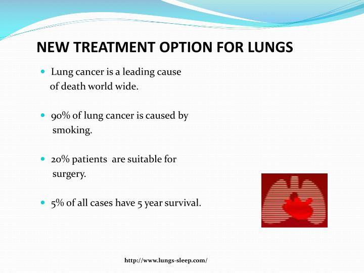 New treatment option for lungs