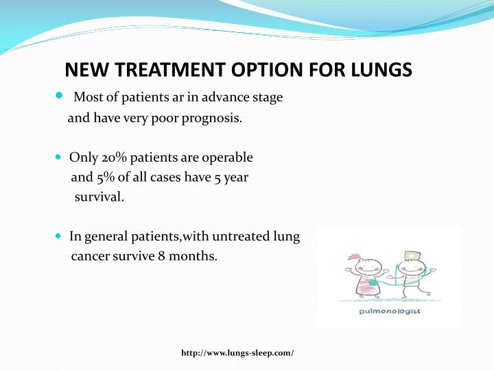 New treatment option for lungs1