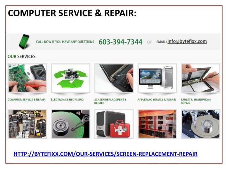 COMPUTER SERVICE &