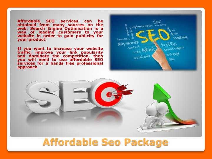 Affordable SEO services can be obtained from many sources on the web. Search Engine