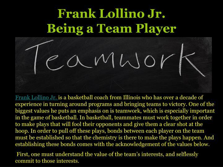 Frank Lollino Jr.