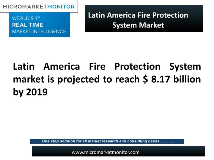 Latin America Fire Protection System