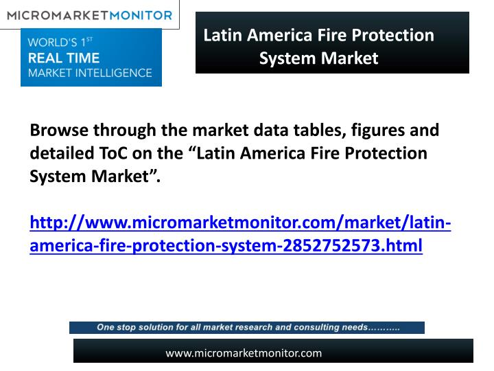 Latin America Fire Protection System Market
