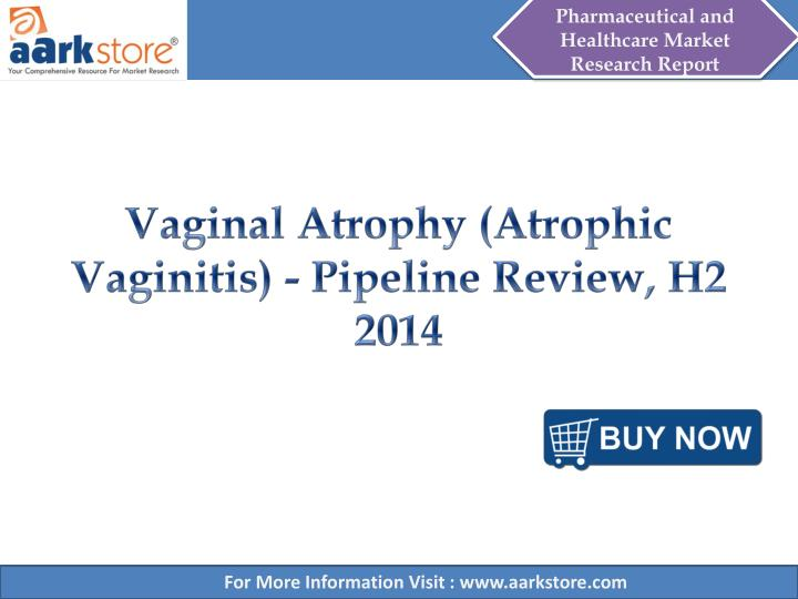 Vaginal atrophy atrophic vaginitis pipeline review h2 2014