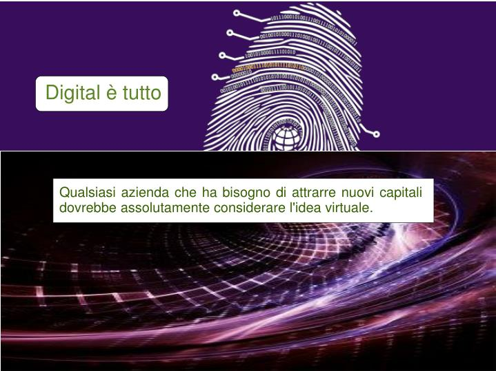 Digital è tutto