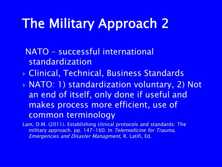 NATO – successful international standardization