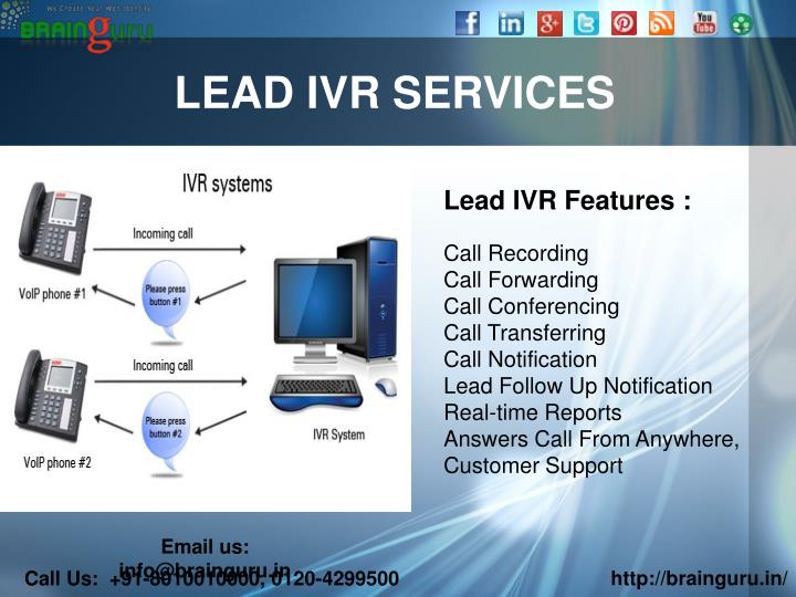 LEAD IVR SERVICES
