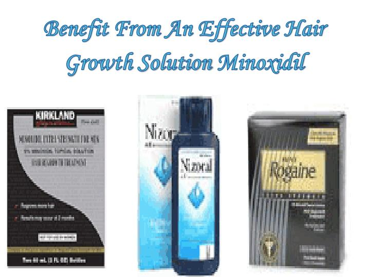 Benefit From An Effective Hair Growth Solution