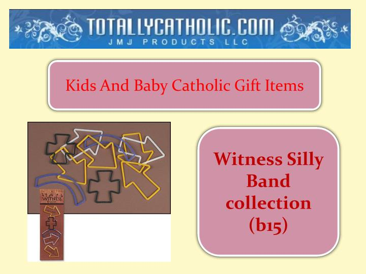 Kids And Baby Catholic Gift Items