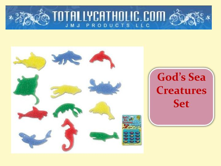 God's Sea Creatures Set