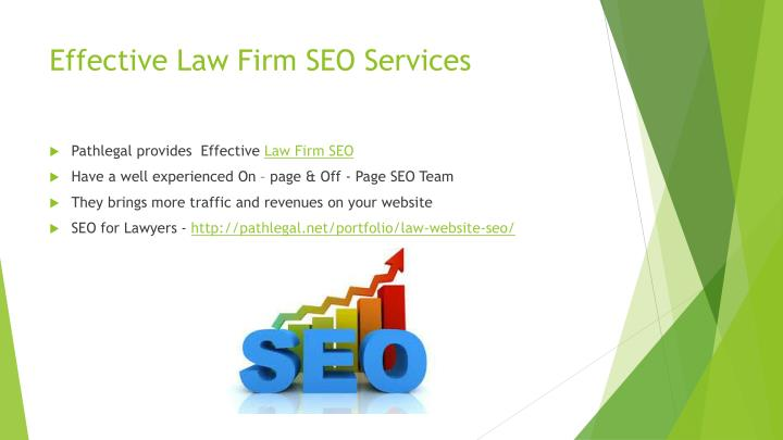 Effective law firm seo services