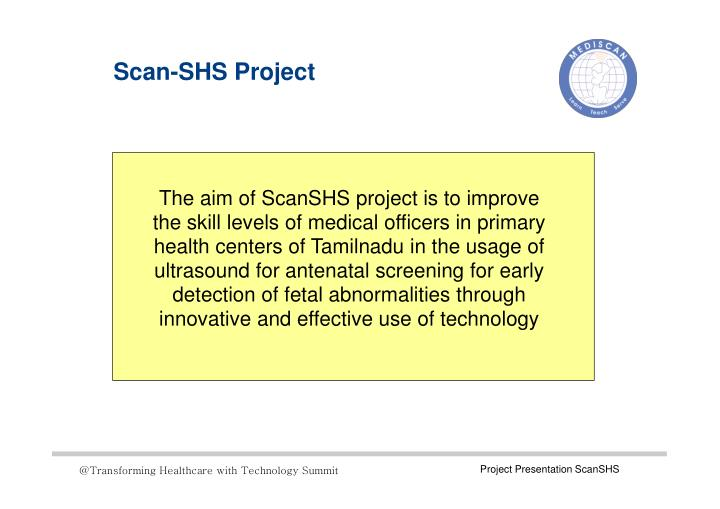 Scan-SHS Project