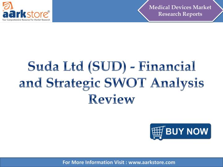 Suda ltd sud financial and strategic swot analysis review
