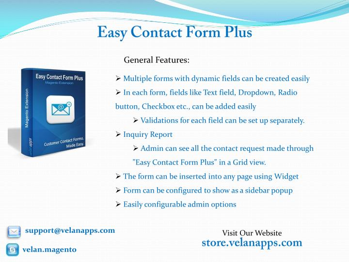 Easy contact form plus1
