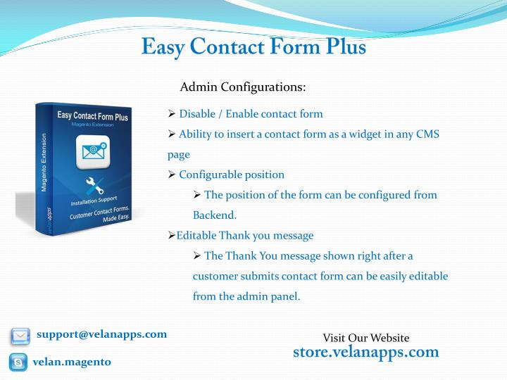 Easy contact form plus2