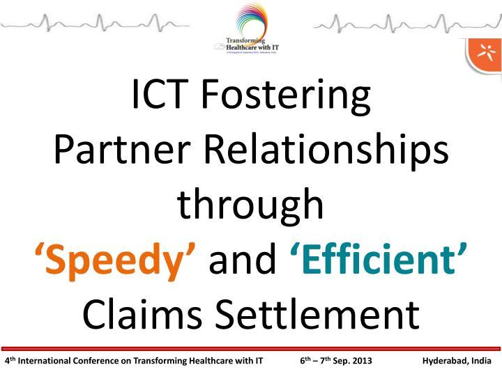 ICT Fostering