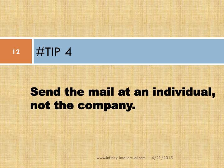 #TIP 4