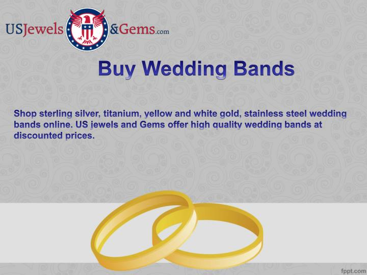 Buy Wedding Bands