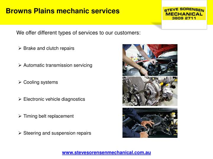 Browns Plains mechanic services
