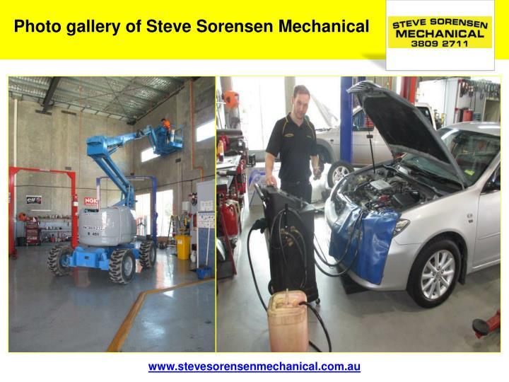 Photo gallery of Steve Sorensen Mechanical