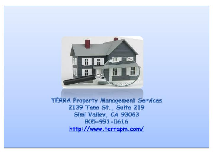TERRA Property Management Services