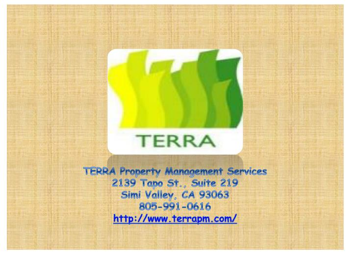 TERRA Property Management Services