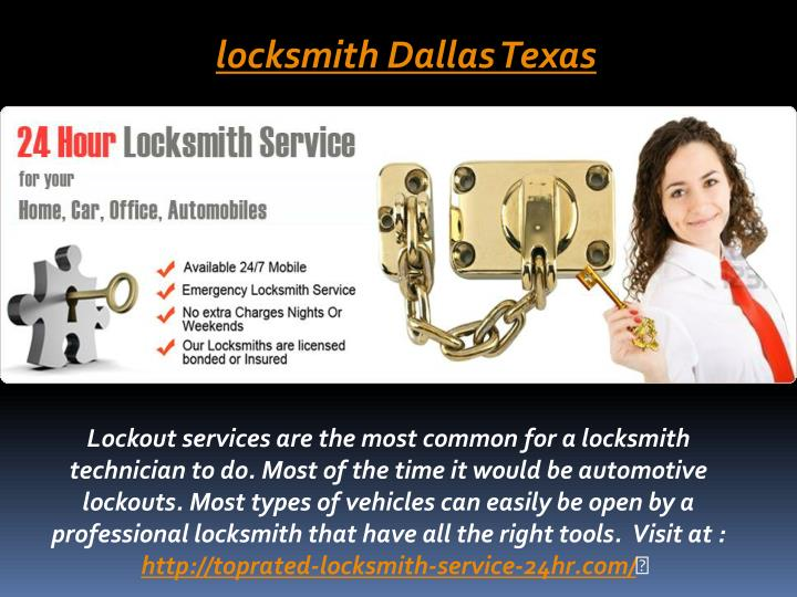 Locksmith Dallas Texas