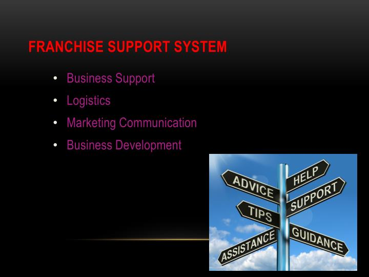 Franchise Support System