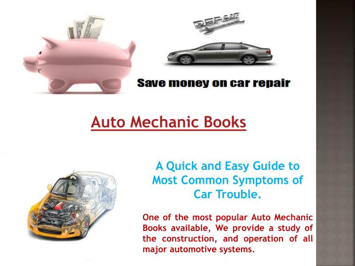 Auto Mechanic Books