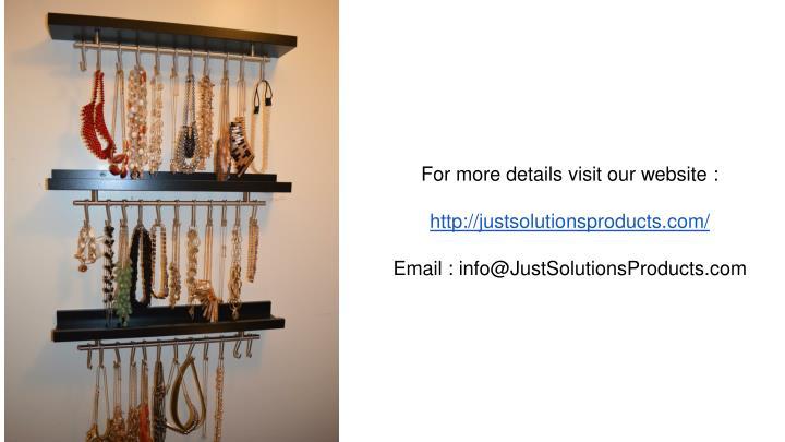For more details visit our website :