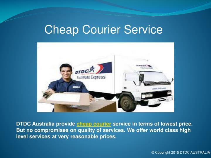 Cheap Courier Service