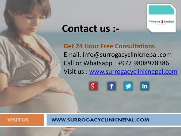 Get 24 Hour Free Consultations