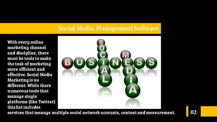 Social media management software for small business