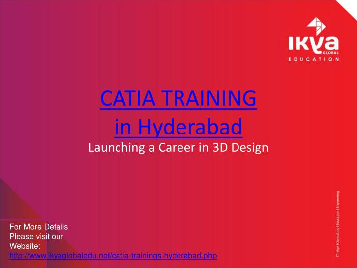 Catia training in hyderabad