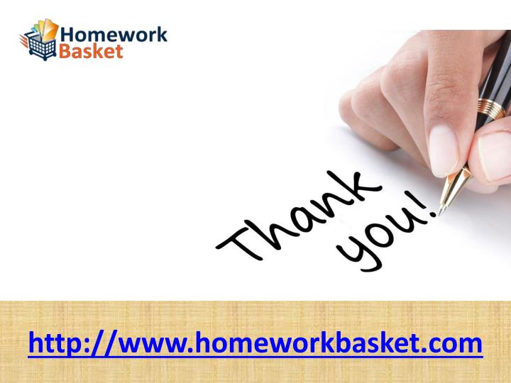 http://www.homeworkbasket.com
