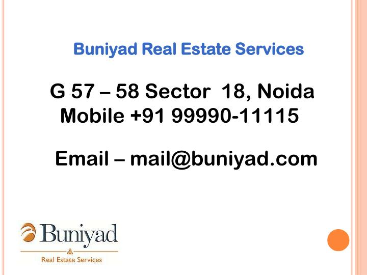 Buniyad Real Estate Services